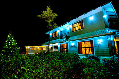 Green Villa Night View 4