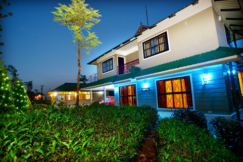 Green Villa -Night View 1