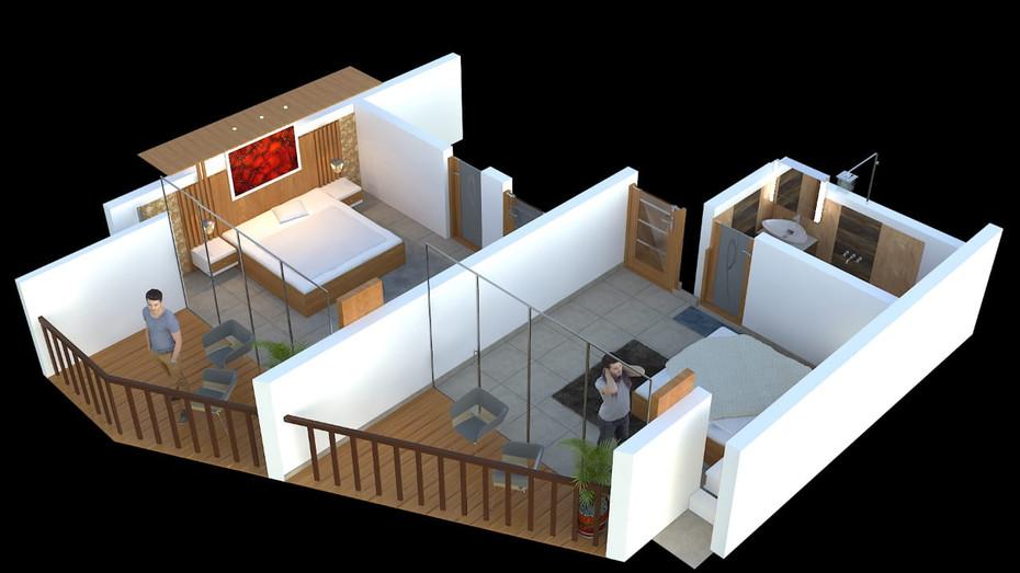 Floor Plan -3D Model