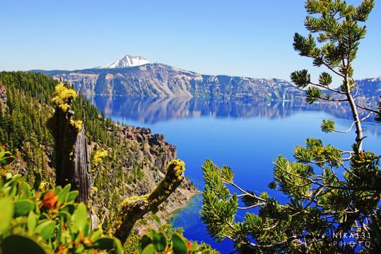 Crater Lake   Oregon.