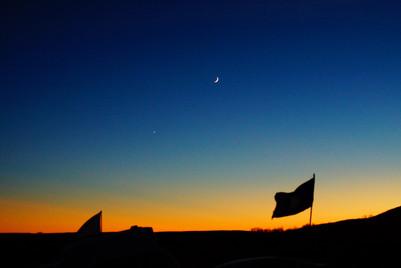 Standing Rock Sunset, ND.