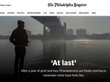'At last' - The Philadelphia Inquirer