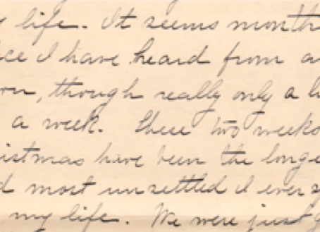 Transcribing Quarantine: Letters of Laura Stanton (Part 2)