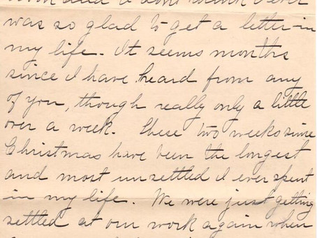 Transcribed: A 1901 Quarantine Story (Part 3)