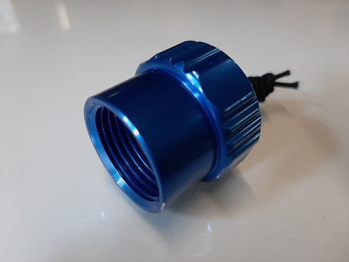 K012 Aluminum dust cap DIN female