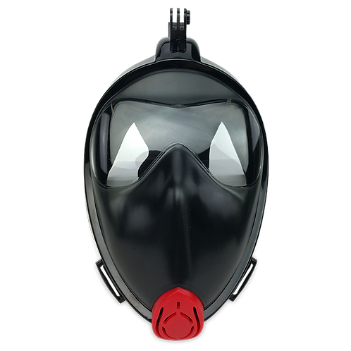 AA001 - Fullface snorkel mask with GoPro mount
