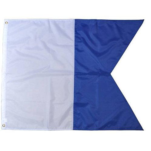 A036 Alpha dive flag 30x45cm