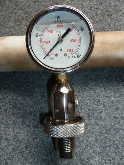 A057 Surface pressure gauge 300bar
