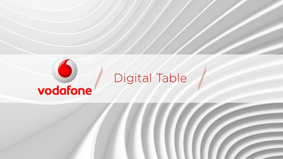 Vodafone Digital Table Interface Design