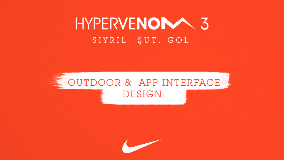 Nike / Outdoor design & App interface
