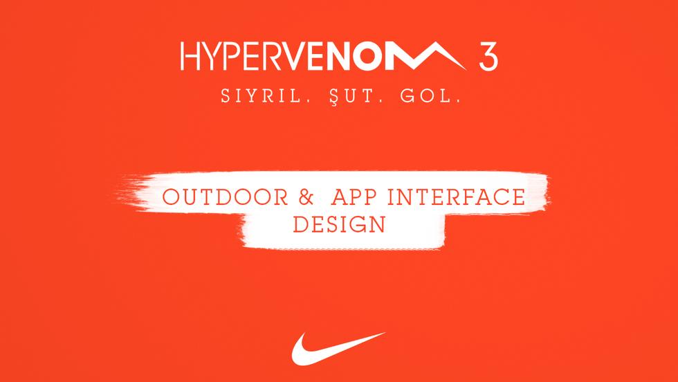 Nike / Outdoor design & App interface