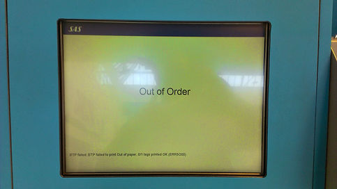 FAIL: Self service machine at shopping mall