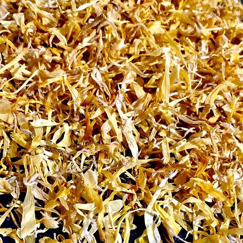 Calendula Petals Non Browning for Soap Making - Bath Salts - Bath Bombs - Confet