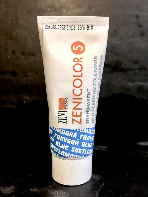 Zenicolor - Blue - Singular Tubes - Specially Designed for Melt & Pour