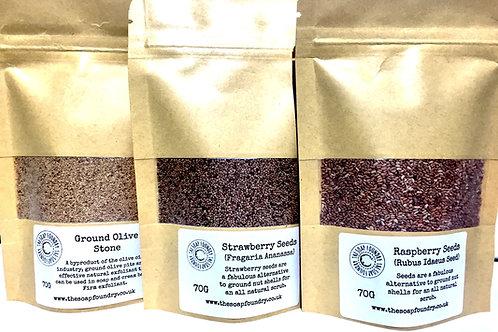 Strawberry Seeds - Optional Suspending Soap Base
