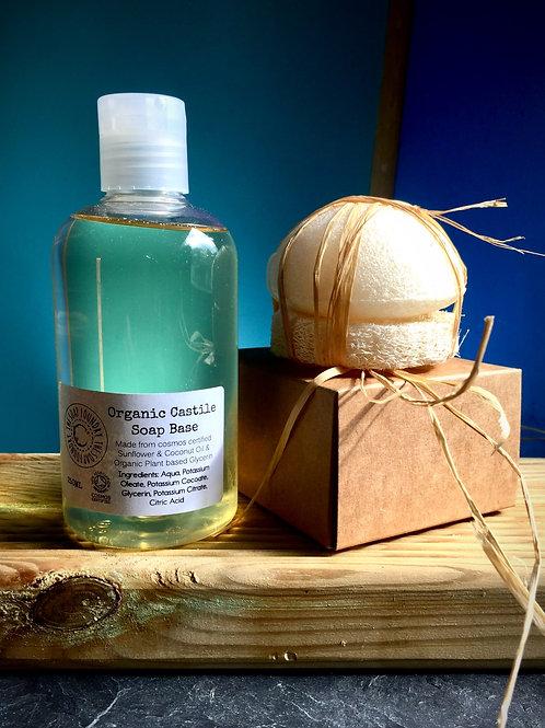 Organic Castille Cleansing Set with Eco Sponge