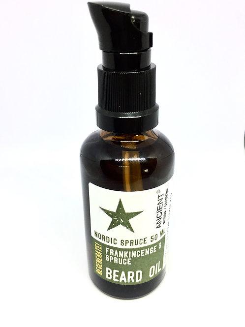 Nordic Spruce Beard Oil - Regenerative - 50ml