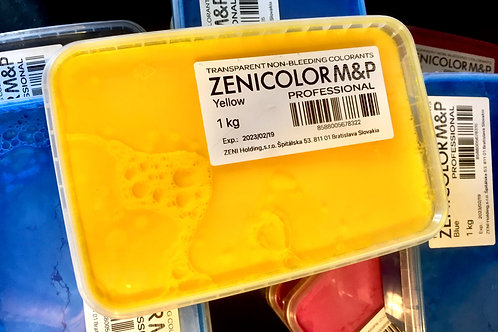 Zenicolor Pro Melt & Pour Colouring System -YELLOW