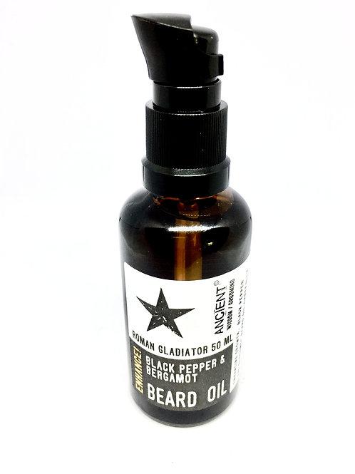 Gladiator Beard Oil - Enhance - 50ml