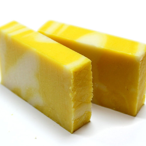 Zingy Lemon Olive Oil Soap - 100G