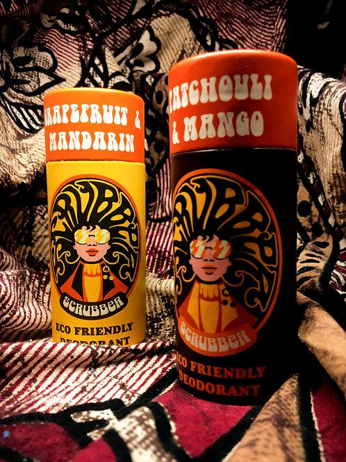 Scrubber - Grapefruit & Mandarin Deodorant Stick