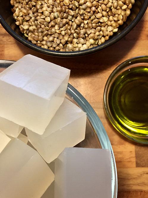 Hemp Oil Melt & Pour Soap Making Base