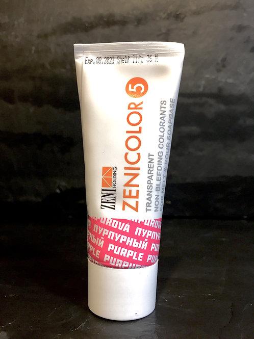 Zenicolor - Purple - Singular Tubes - Specially Designed for Melt & Pour