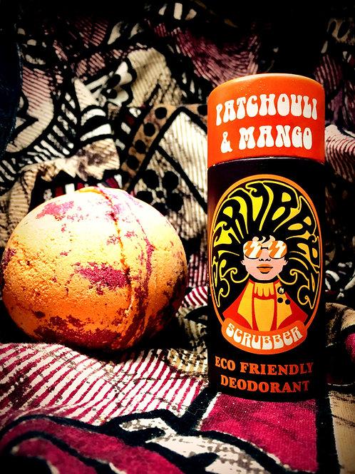 Scrubber - Patchouli & Mango Deodorant Stick