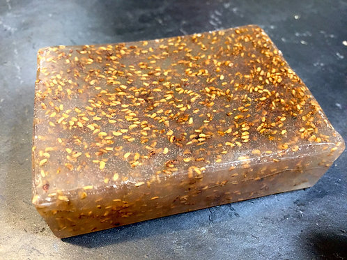 Suspending - Swirling Melt & Pour Soap Making Base
