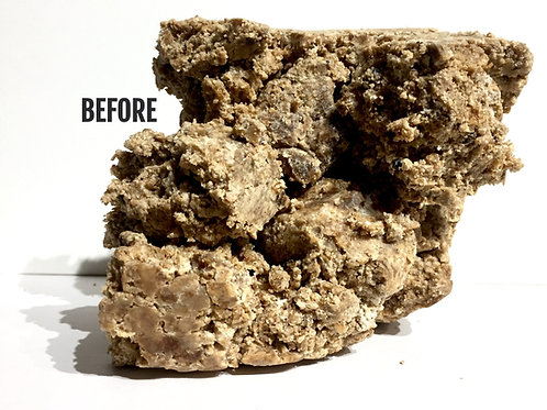 African Black Soap - Very Soft - Raw - Natural State