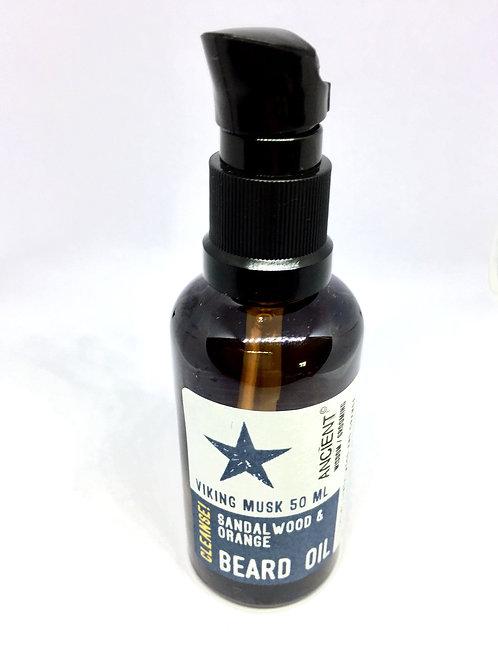Viking Musk Beard Oil - Cleanse - 50ml