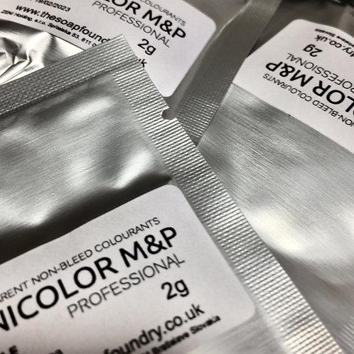 Zenicolor Pro Melt & Pour Colouring System - SAMPLE - 4 X 2g