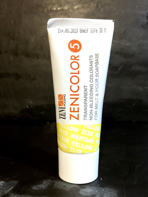 Zenicolor - Yellow - Singular Tubes - Specially Designed for Melt & Pour