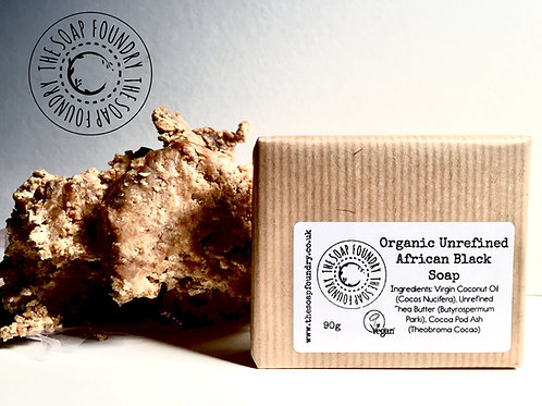 African Black Soap - Very Soft - Raw - Straight Off The Block