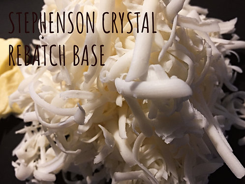 Rebatch Base - Cold Process Soap that you can Remelt!