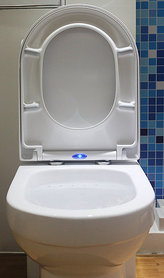 DÜREN U1002 - Siège WC Soft-Close avec éclairage LED