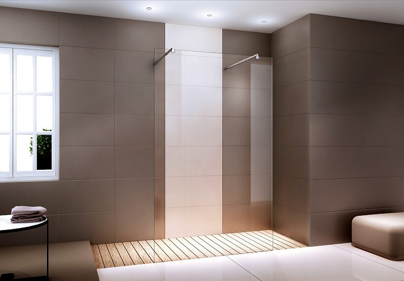 VANDA EX105 - paroi de douche italienne en verre
