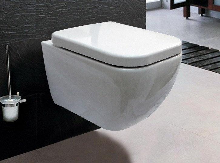SASSNITZ 101R - Cuvette WC suspendu à fond creux