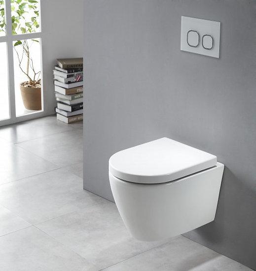 DORSTEN B8030 - Cuvette WC suspendu blanc ou noir
