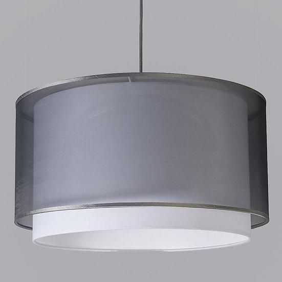 Suspension TURN 47cm grise