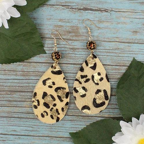 Leopard Earrings LIGHT