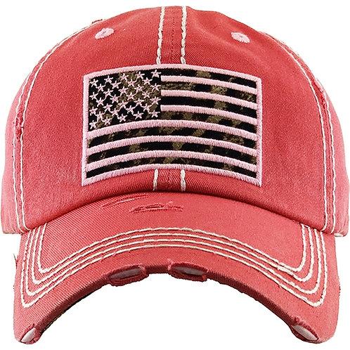 Leopard Flag Hat