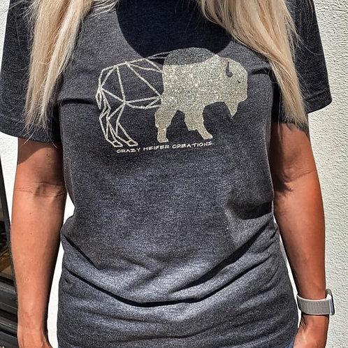 Glitter Geo Buffalo
