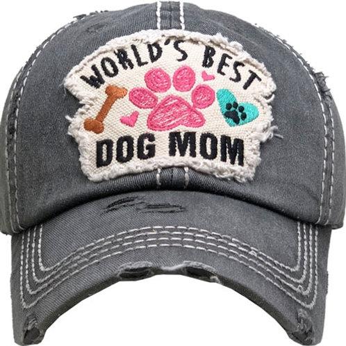 Worlds Best Dog Mom Hat