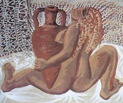 Капелько В.Ф. 1979  Женщина с амфорой