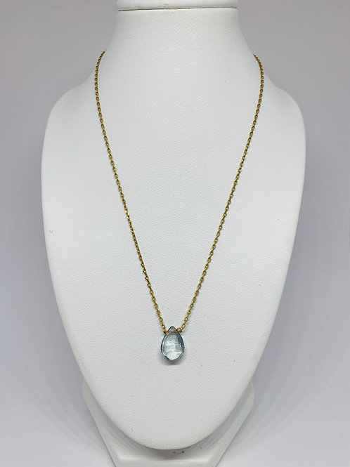 Collier goutte or