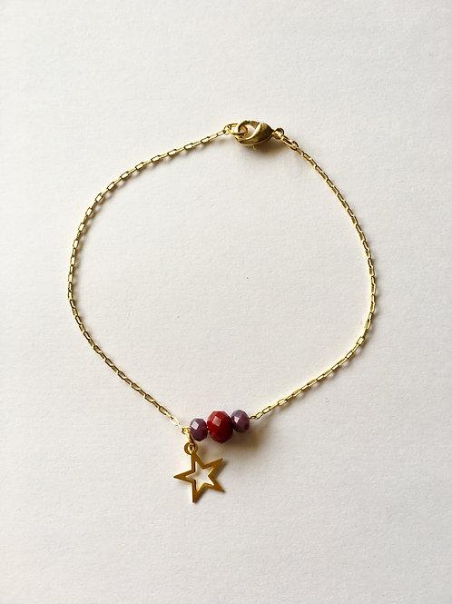 bracelet star or