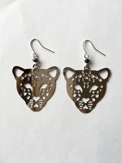 boucles d'oreilles jaguar arg