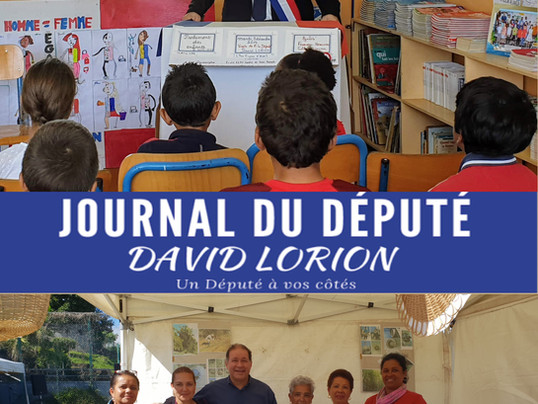Journal du député - décembre 2020