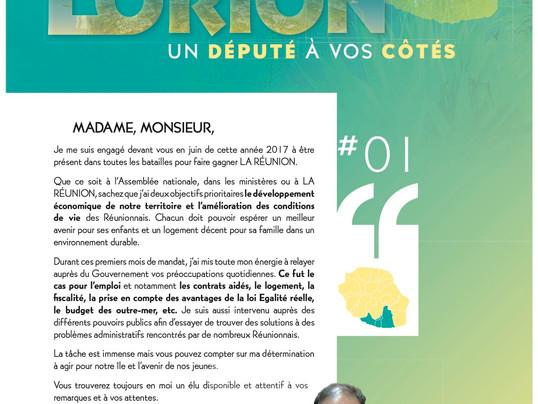 Journal du Député, n°1 - 2017